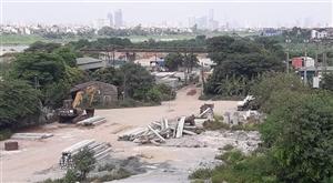 Bãi tâp kết phế liệu ở Đông Anh - Hà Nội xử lý như thế nào