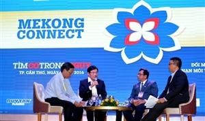 Nan giải vấn nạn môi trường và hội nhập được thảo luận nhiều trong Diễn đàn Mekong Connect – CEO Forum 2016: