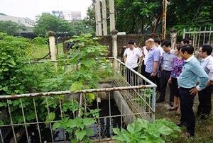 Hà Nội: Nhiều trạm xử lý nước thải hàng tỷ đồng bị bỏ hoang