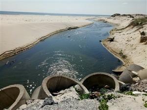 Hệ thống xử lý nước thải của các hồ nuôi tôm có đảm bảo chất lượng không.
