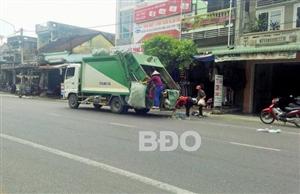 Khó khăn thu gom, xử lý rác thải sinh hoạt ở Tây Sơn