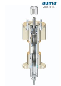 Bộ truyền động quay số SA có thể kết hợp với bộ đẩy LE thẳng